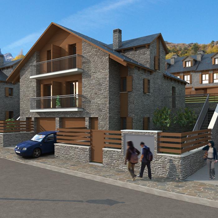Casas rurales paredas pirineo aragonés